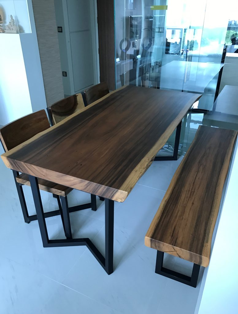 Suar Wood Dining Table in singapore