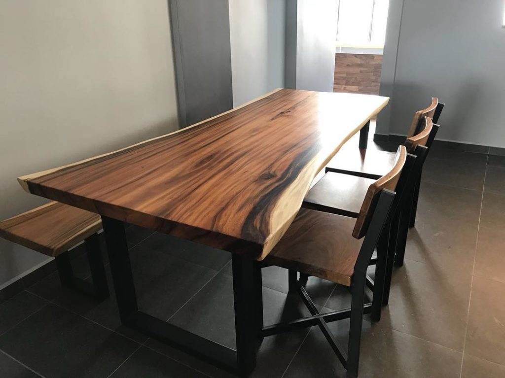 dining table singapore solid wood