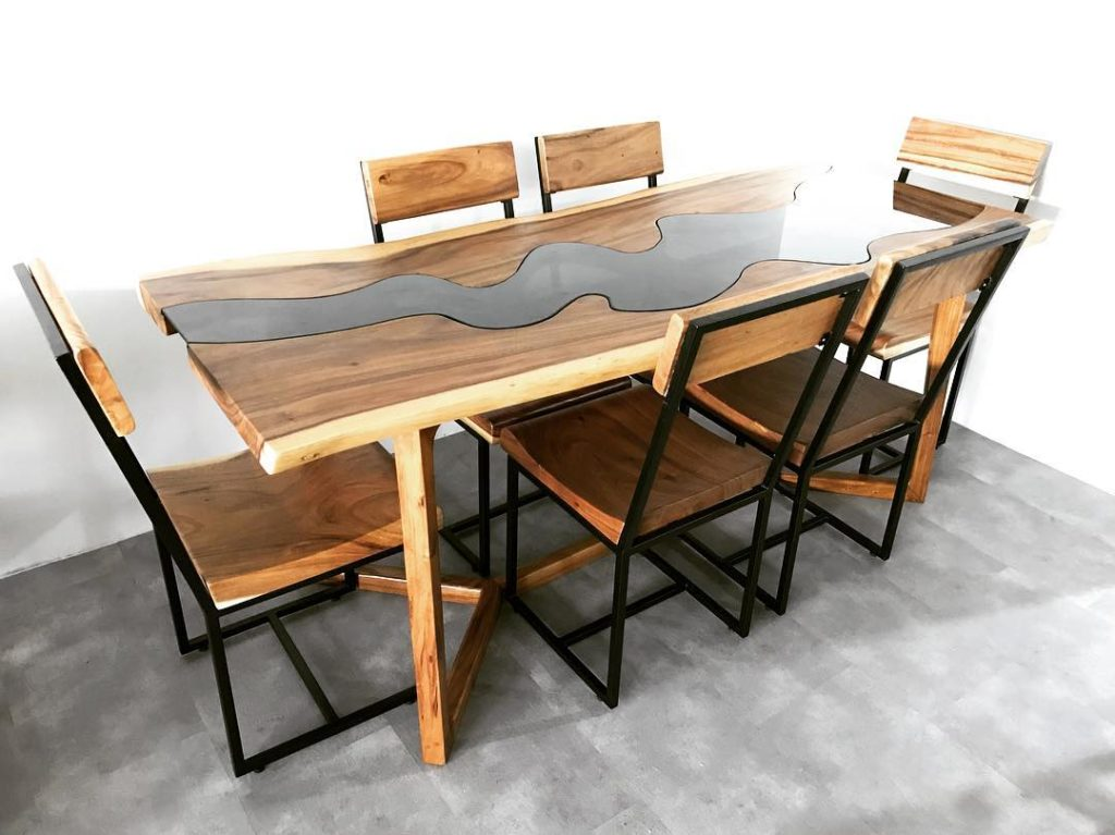 singapore wood dining table special